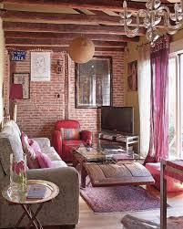 bold bohemian living room bohemian style living room
