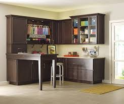 room shelves cabinets  craft room storage cabinets by schrock cabinetry