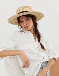 <b>Соломенная шляпа</b> ASOS DESIGN | ASOS