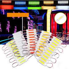 <b>10 pcs waterproof</b> cob injection led module strip light window store ...