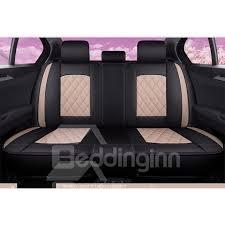 <b>5</b>-Seater Romantic <b>Retro</b> Style <b>PU</b> Leather <b>Color</b> Block Design ...