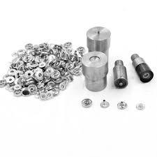 <b>50 sets</b>/lot.8mm Button. rivet. <b>Metal buckle</b> combination.Clothing ...