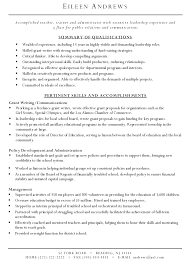 sample write a resume template resume sample information sample resume resume template example for grant writing for pertinent skills and accomplishments sample