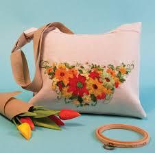 """Текстильная сумка """"Лето"""" (<b>основа для вышивания</b>)"""