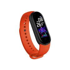 <b>New M5 Smart</b> watch Band Fitness Tracker Heart Rate Blood ...