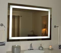 design lighted bathroom mirror