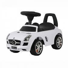 Машинка-<b>каталка Chilok bo</b> Мерс 3-6 лет white купить в ...