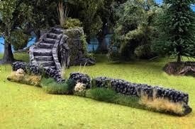 Nature <b>Stone</b> Walls <b>2 pcs</b>. Tabletop-Terrain