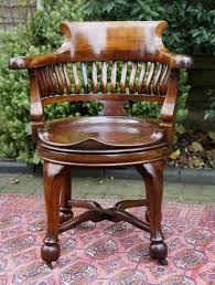 antique swivel seat desk chair antique swivel office chair