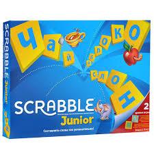 Купить <b>настольную игру Mattel</b> Scrabble Junior (детский) Y9736 в ...