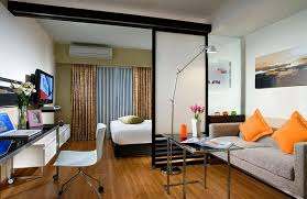 living room with bed:  living room and bedroom awesome with design ideas for living room and bedoom combo tips