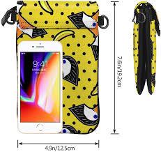 Hipster Bird Banana Cell Phone Purse Crossbody ... - Amazon.com