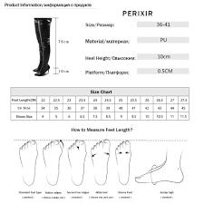 <b>Perixir</b> PU Women High Heels Long <b>Thigh High</b> Boots Rihanna ...