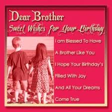 Birthday Wishes for Brother   Happy Birthday, Brother and Birthday ... via Relatably.com