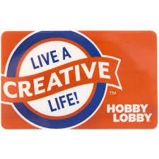 Hobby Lobby Gift Card | Hobby Lobby