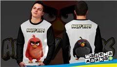<b>Футболки</b> Angry <b>Birds</b> (Энгри Бердс) - печать на <b>футболках</b> ...