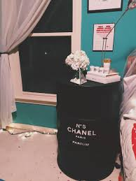 ideas bedside tables pinterest night: diy chanel night stand tumblr inspired room decor diy chanel