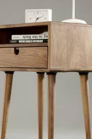 ideas bedside tables pinterest night: walnut mid century scandinavian bedside table by habitables