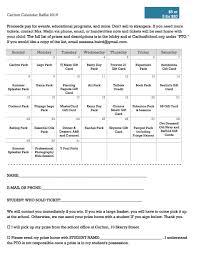 carlton school calendar raffle print at home ticket calendar raffle print at home ticket