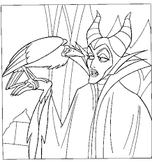 Small Picture Maleficent Fairy Coloring Pages Coloring Coloring Pages