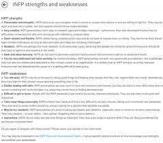 infp strengths and weaknesses pretty accurate except i kind of infp strengths and weaknesses pretty accurate except i kind of like data and