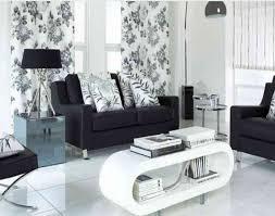 modern living room decoration white walls