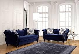 blue sofas living room:  brilliant  pcs royal blue sofa set and blue sofa elegant fabric sofas buy fabric sofas living room