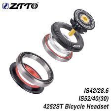 """<b>ZTTO MTB</b> Bicycle Bearing Headset <b>42mm52mm</b> CNC 1 1/8""""-1 1/2 ..."""
