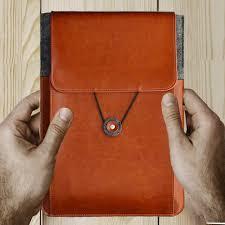11.6 13.3 15.6 inch <b>Genuine Leather Vintage</b> Envelope ultrbook ...