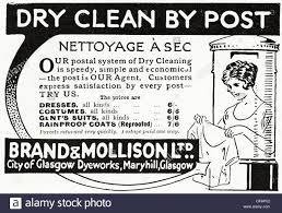 original 1920s advertisement advertising dry cleaning by post original 1920s advertisement advertising dry cleaning by post consumer magazine advert circa 1924