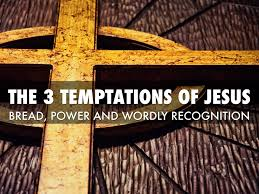 Image result for Jesus 3 temptations