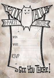 printable halloween party invitations for adults mickey features printable halloween party invitations