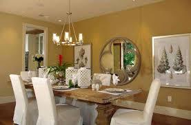 warna cat ruangan makan: Skema warna dinding interior ruang makan yang elegant desain