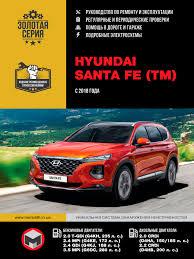 Контрольные лампы и индикаторы Hyundai <b>Santa Fe</b> с 2018 года ...