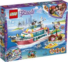 Конструктор <b>LEGO Friends</b> 41381 <b>Катер для</b> спасательных ...