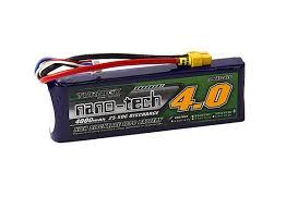 Turnigy Batteries <b>Nano</b>-<b>Tech</b> 4000mah 3S 25~50C Lipo <b>Battery</b> ...