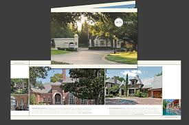 brochure real estate brochure template photos of real estate brochure template medium size