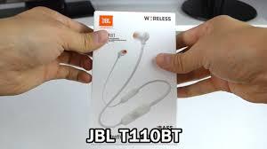 Обзор <b>наушников JBL T110BT</b> - YouTube
