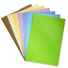 Мелованные <b>цветные бумага</b> и картон для творчества купить в ...