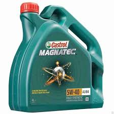 <b>Масло моторное</b> синтетическое <b>castrol magnatec</b> 5w-40 ...