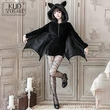 <b>Black Vampire Bat Cosplay</b> Costume Masquerade Woman Black ...