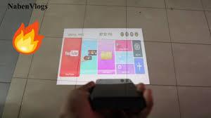 Mini <b>Smart</b> Projector <b>P09</b> Touch Panel Unboxing & Video Test ...