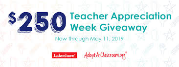 Win a $25 Gift Card From Lakeshore Learning | AdoptAClassroom.org