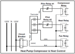 control of heat pumps energy sentry tech tip figure 1 relay installation on heat pump compressor