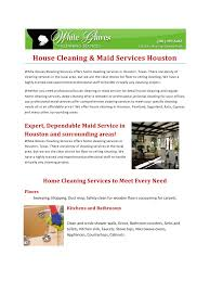 house cleaning maid services houston pdf pdf archive white gloves provides office and home cleaning services in the houston texas area whether you need professional cleaning for your