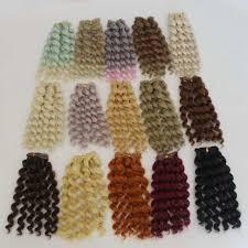 Online Shop <b>Hot</b> Sale 20cm*100cm <b>Doll Wig</b> Large Wave Curls Hair ...