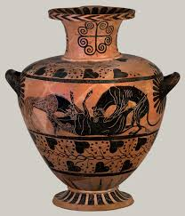 ancient greek colonization and trade and their influence on greek terracotta hydria water jar