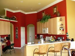 Wall For Kitchens Red Wall Kitchen Ideas Quicuacom