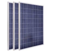 ECO-WORTHY 300w Watt <b>3pcs 100W</b> 12V Solar Panel Module ...