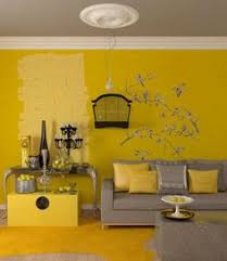 wall painting ideas console table living room yellow beige sofa cushion c351 boat lighting trough